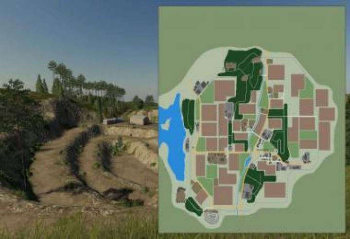 FS19 - New Woodshire Map V1