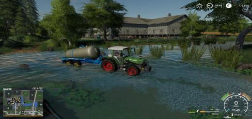 Photo of FS19 – Oberlausitz Map V1.0.2