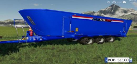Photo of FS19 – Peecon Big Mixer Wagon V1