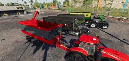 Photo of FS19 – Peecon Hooklift Auger Container V1