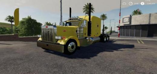 Photo of FS19 – Peterbilt Log Truck V1