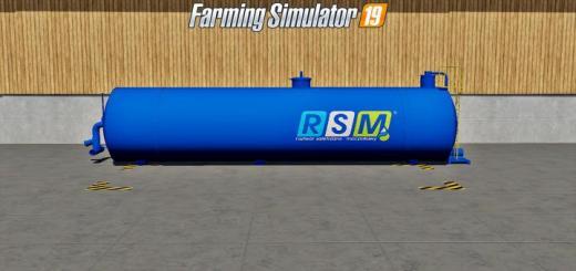Photo of FS19 – Placeable Buy Rsm Liquid Fertilizer Tank V1