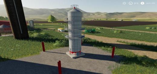Photo of FS19 – Placeable Grain Dryer Extension V1
