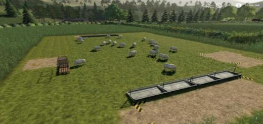 Photo of FS19 – Placeable Open Range Sheep Pasture V1