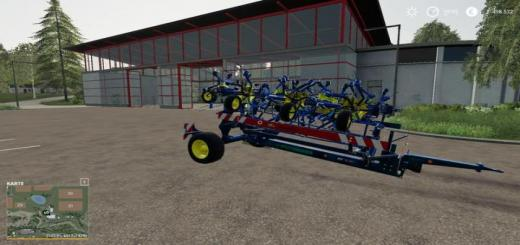 Photo of FS19 – Pottinger Hit 12.14 T With Farbwahl V1