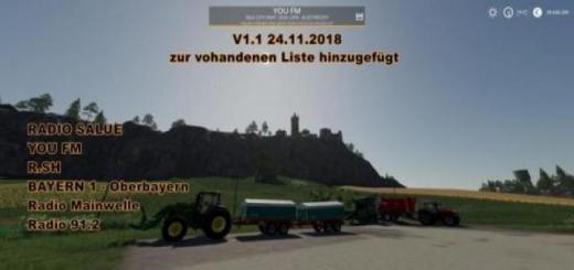 Photo of FS19 – Radio Streams Germany V1.6