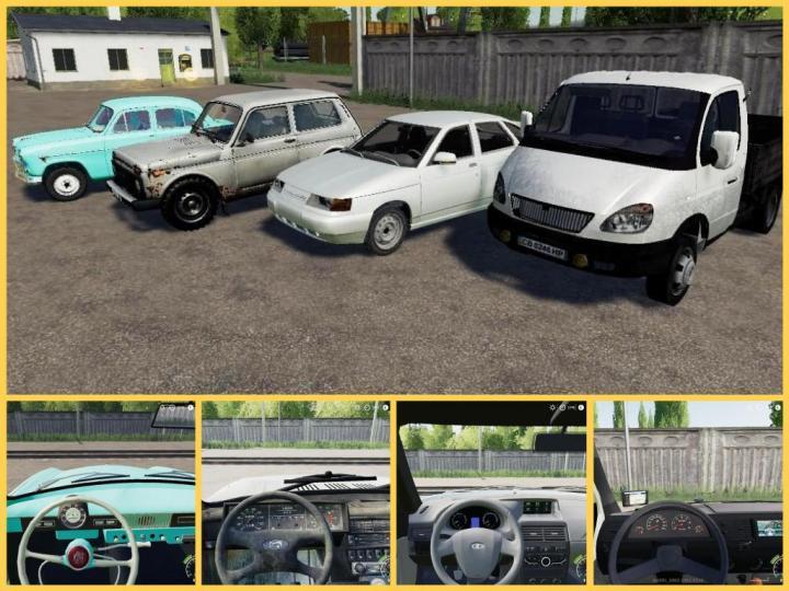 FS19 - Rus Autopark V1