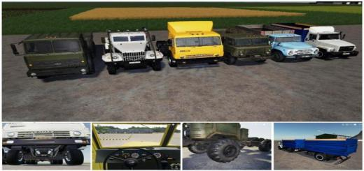 Photo of FS19 – Rus Trucks Paсk V1