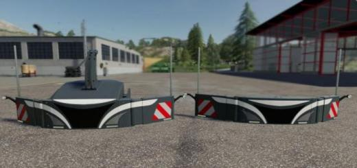 Photo of FS19 – Safety Weights Pack V1