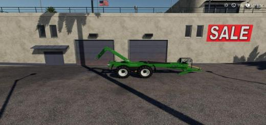 Photo of FS19 – Schuitemaker Hooklift Trailer V1