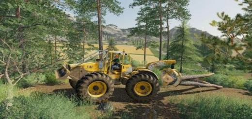Photo of FS19 – Skidder Mf320 V1
