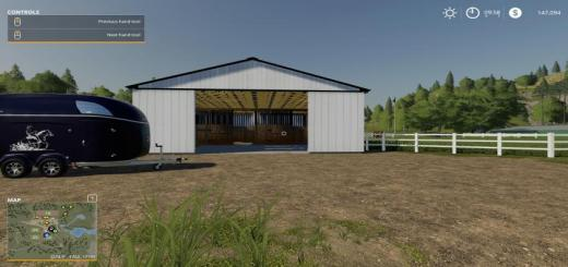 Photo of FS19 – Small American Stable V2.1