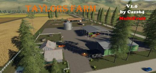 Photo of FS19 – Taylors Farm Map V1.1