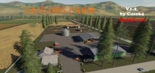 Photo of FS19 – Taylors Farm With 1.3 Patch Update V1.2
