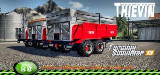 Photo of FS19 – Thievin 18T Chrom Tfsgroup V1