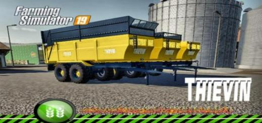 Photo of FS19 – Thievin 18T Jaune Tfsg V1