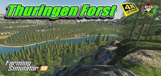 Photo of FS19 – Thuringenforst Map V2