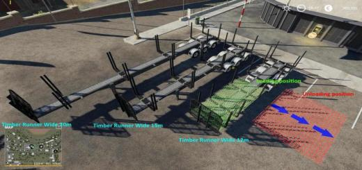 Photo of FS19 – Timber Runner Wide With Autoload Wood V1.2