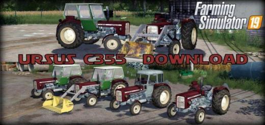 Photo of FS19 – Ursus C355 Tractor