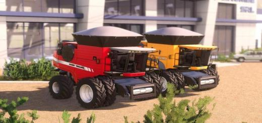 Photo of FS19 – Valtra Bc 8800E + Massey Ferguson 9895 V1
