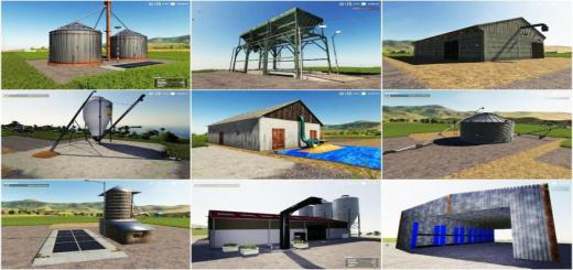 Photo of FS19 – Various Storage Pack V1