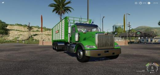 Photo of FS19 – Western Star 4900 Daycab Hooklift V1