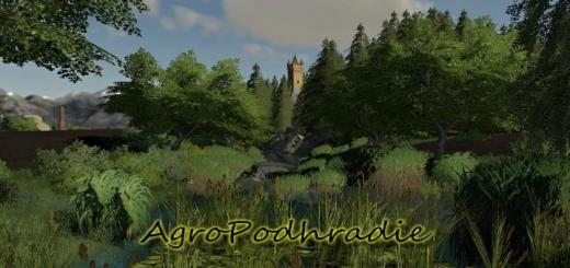Photo of FS19 – Agropodhradie Map V2