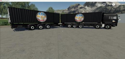 Photo of FS19 – Atc Container Transportation Pack V2