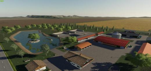 Photo of FS19 – Banzkow In Mecklenburg Map V1