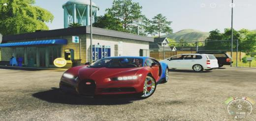 Photo of FS19 – Bugatti Chiron Sportfs19 V1