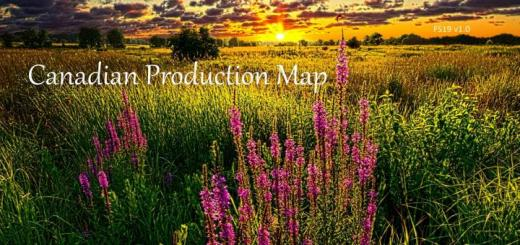 Photo of FS19 – Canadian Production Map 19 V1