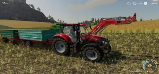 Photo of FS19 – Caseih Maxxum Cvx Serie (2018) V1