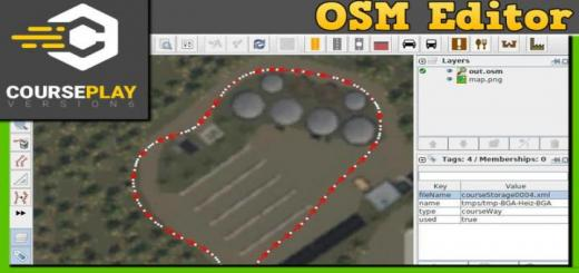 Photo of FS19 – Courseplay 6 Editor Osm Converter V1.0.2