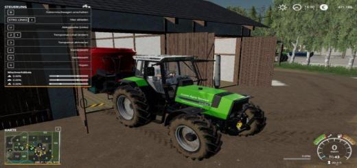 Photo of FS19 – Deutz Fahr Agrostar Dx 61 V1