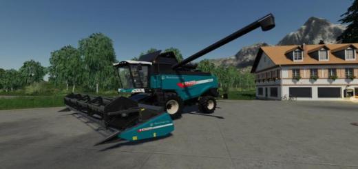 Photo of FS19 – [Fbm Team] Agco Combine Harvester Set V1