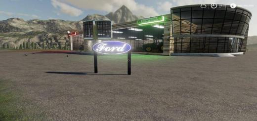 Photo of FS19 – Ford Sign V1