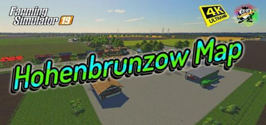 Photo of FS19 – Hohenbrunzow 2K19 Map V2