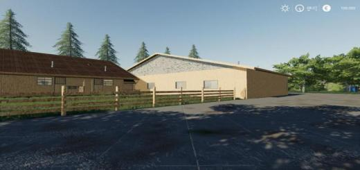 Photo of FS19 – Horse Stable With Riding Hall V1
