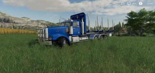 Photo of FS19 – Hulk Log Truck V1