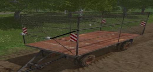 Photo of FS19 – Hw80 Bale Trailer V1