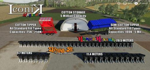 Photo of FS19 – Iconik Cotton Addon Pack V1