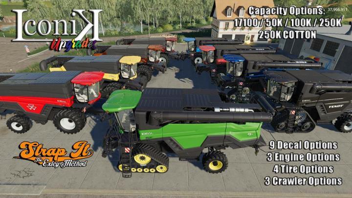 FS19 - Iconik Ideal Harvester V2