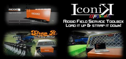 Photo of FS19 – Iconik Ridgid Service Toolbox V1