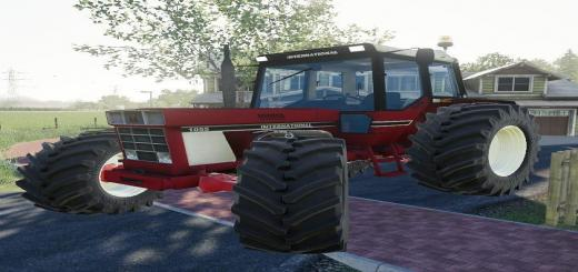 Photo of FS19 – International 1055 Kuulbult Fm V1