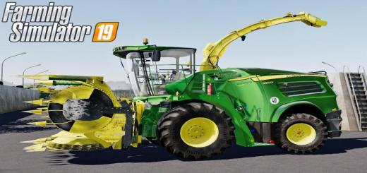 Photo of FS19 – John Deere 8000I Series Pack V1