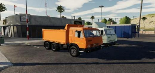 Photo of FS19 – Kamaz 5410 Plus Semi Trailer V1.0.0.6