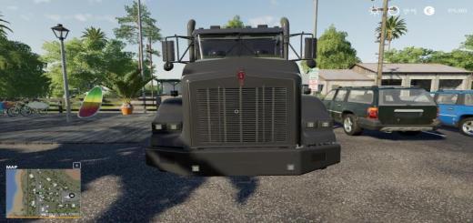 Photo of FS19 – Kenworth T800 Midnight Edition V1