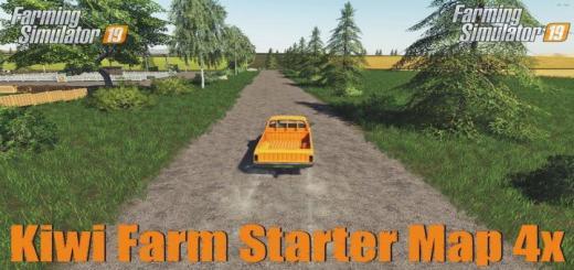 Photo of FS19 – Kiwi Farm Starter Map 4X Multi Fruit V3