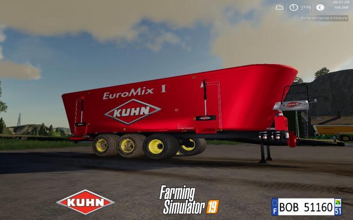 FS19 - Kuhn Big Mixer Wago V1.0.0.4