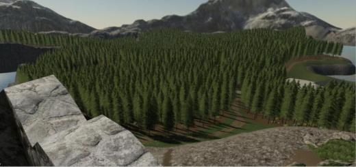 Photo of FS19 – Logging In The Mountains Map V1